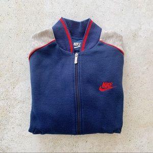 💙 VINTAGE NIKE Bomber Sweatshirt Jacket size S